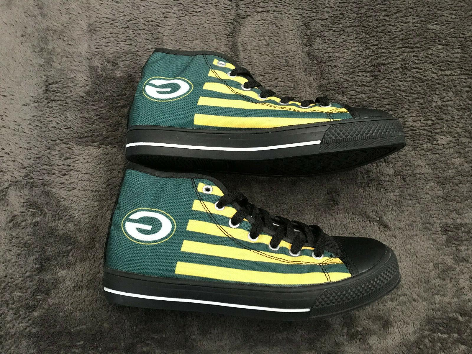 Green Shoes Sneaker High Casual