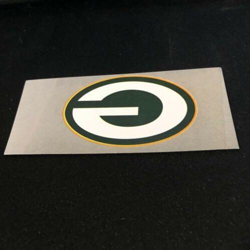 """Green Football Pocket Logo Magnet 4"""" X"""