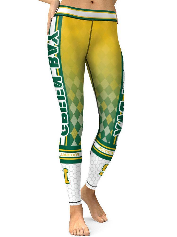 green bay leggings small xxl 0 14