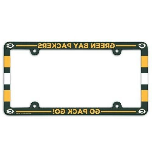 green bay packers 1 nfl license plate
