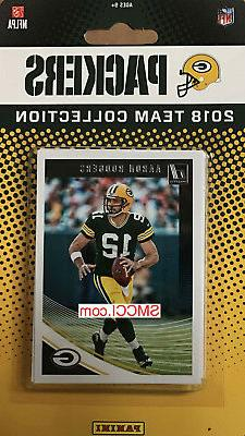 Green Bay Packers 2018 Donruss Factory Sealed Team Set Rodge
