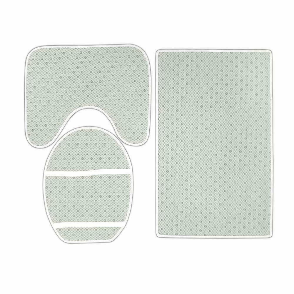 Green Bathroom Bath Toilet Lid Cover