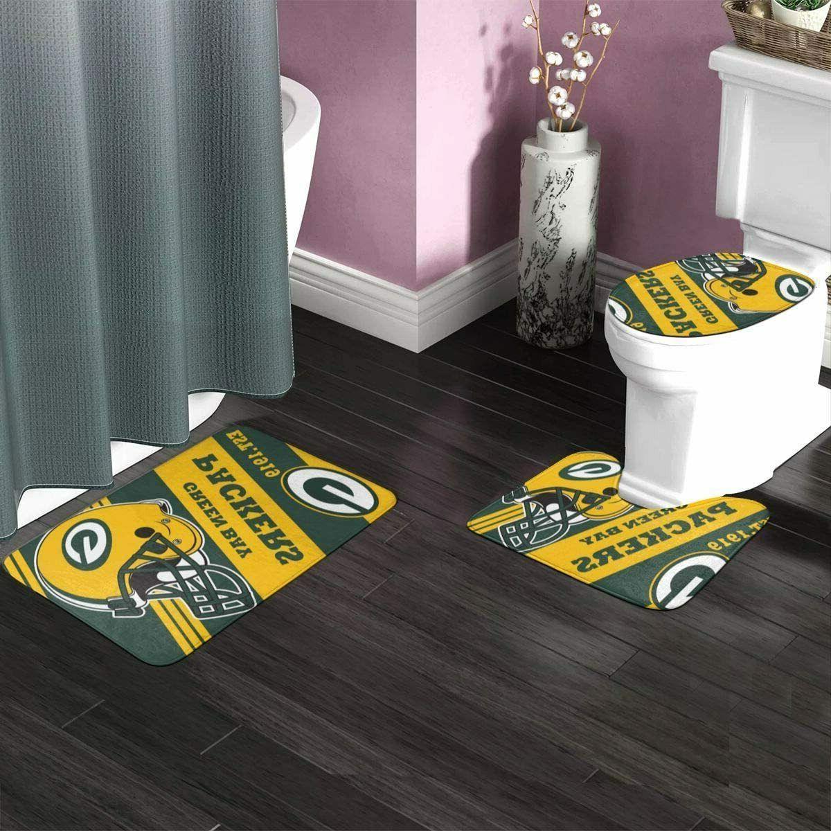 Green Bay 4PCS Bathroom Bath Cover