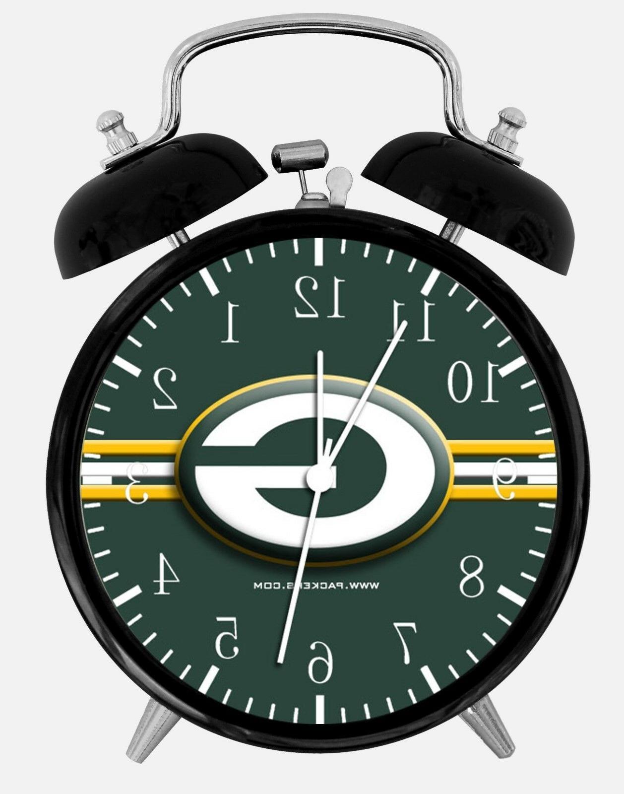 green bay packers alarm desk clock 3
