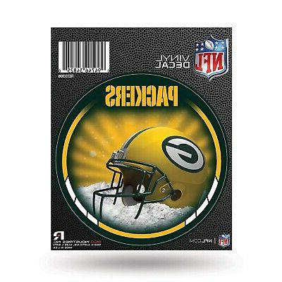 green bay packers decal 4 round vinyl