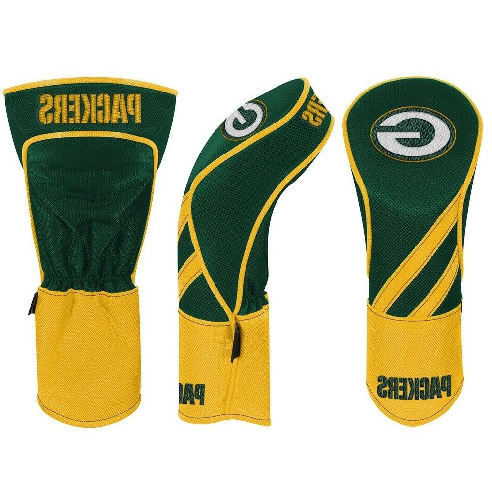 green bay packers embroidered driver headcover individual