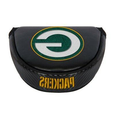green bay packers embroidered logo black putter