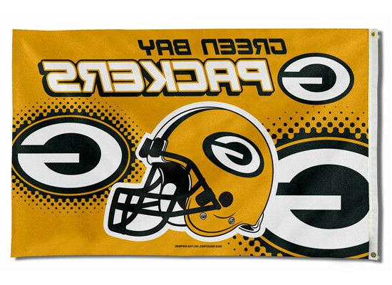green bay packers flag 3 x5 nfl
