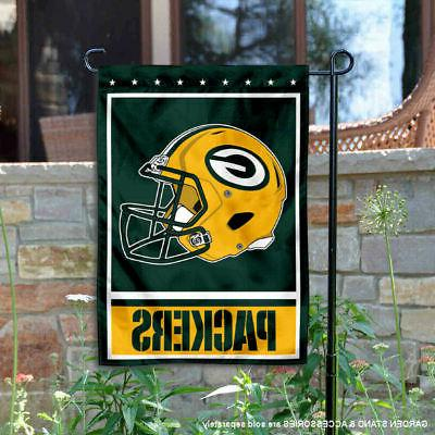 green bay packers garden flag and yard