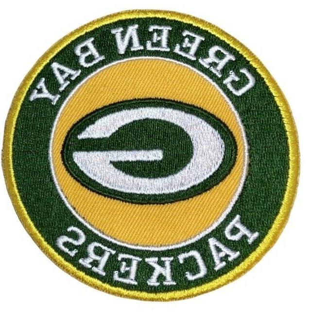green bay packers iron on patch 3