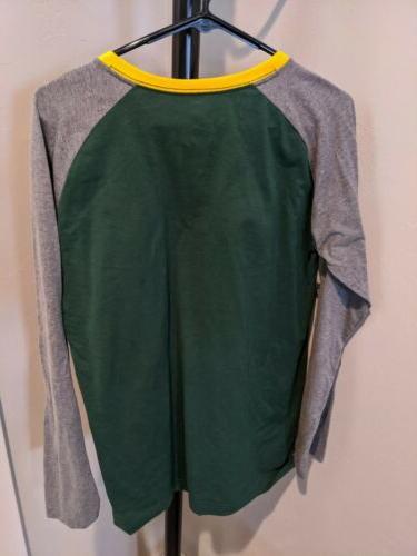 Green Packers Sleeve shirt Apparel New