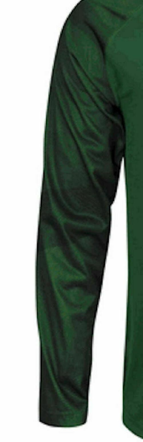 Green Bay Green Polyester Rival Long Sleeve T