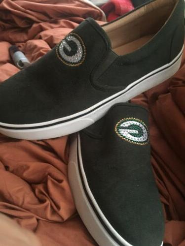 green packers shoes