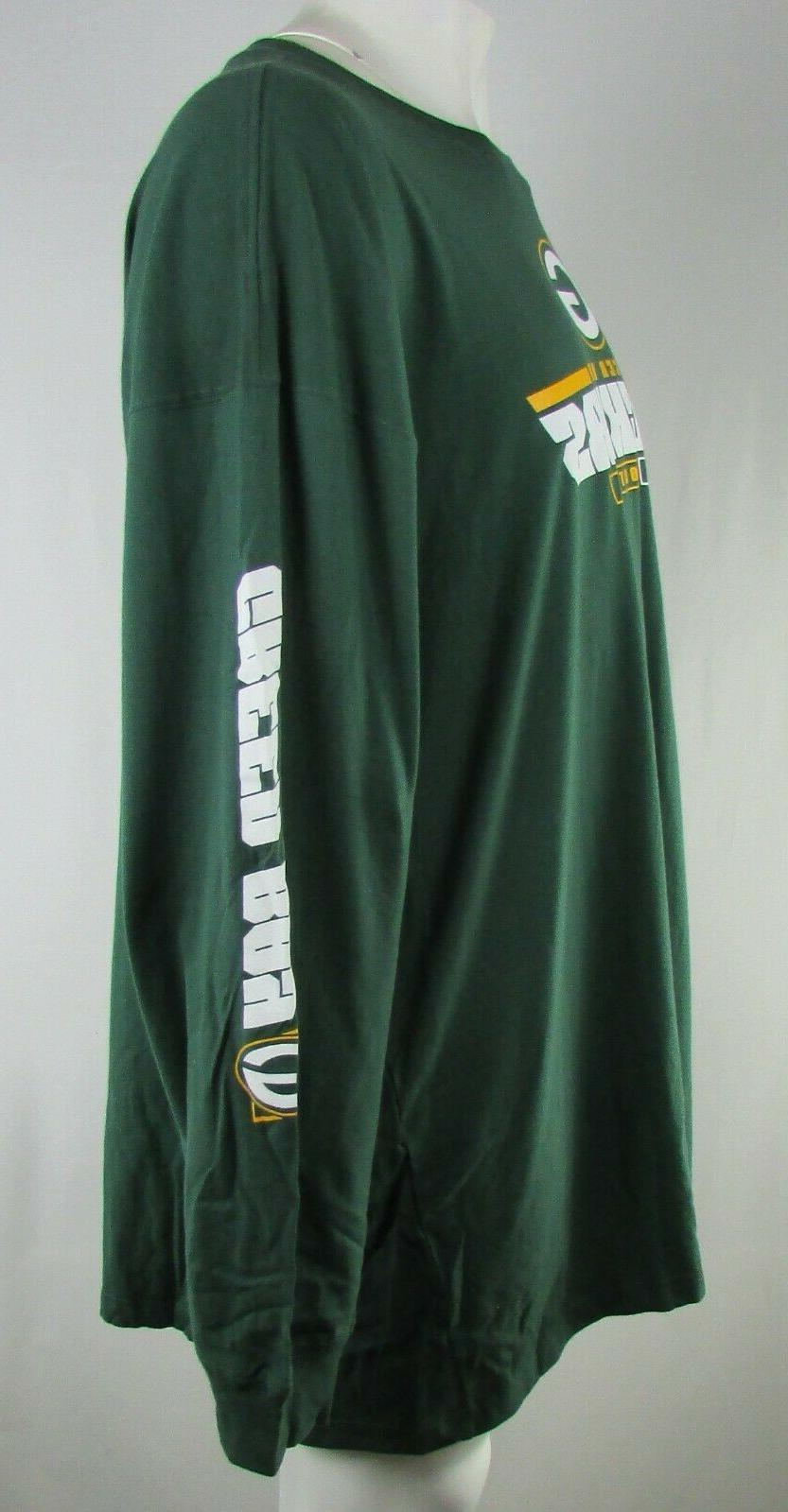 Green G-III Sleeve Shirt