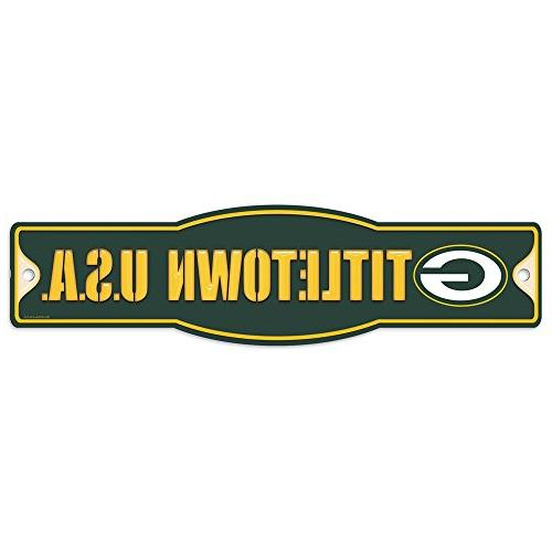 green bay packers nfl plastic