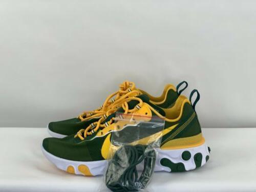 Nike Green NFL Shoes 8.5