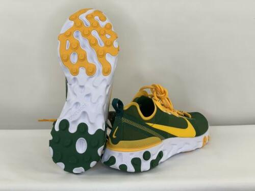 Nike Bay Packers NFL React Element 55 Shoes CK4882-300