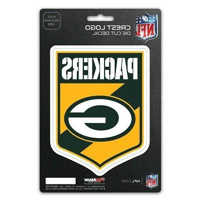 green bay packers pm 5 crest decal