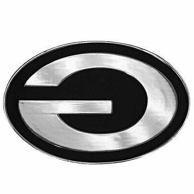 green bay packers premium solid metal logo