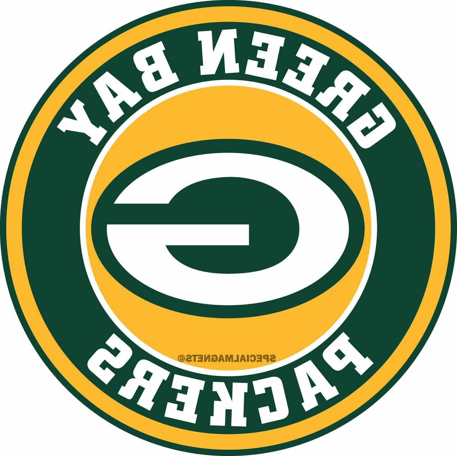 green bay packers removable car magnets sport