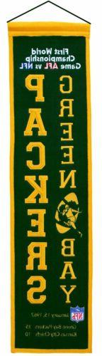 Green Bay Packers Super Bowl I Heritage Banner 1001