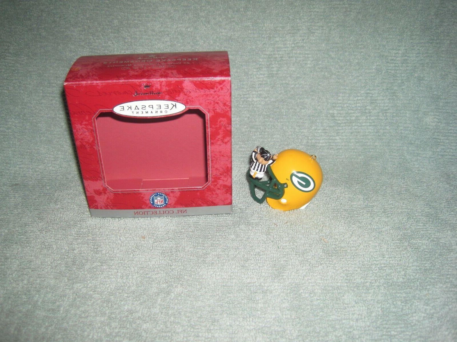 Hallmark NFL Bay Packers Ornament w/ Referee