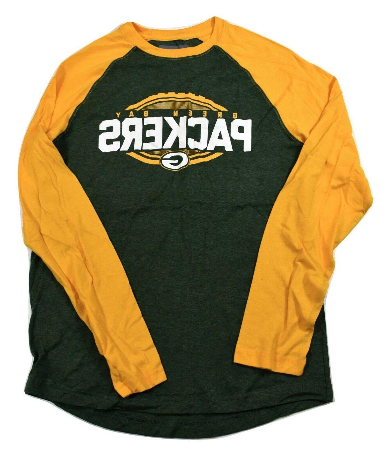 mens green bay packers football shirt new