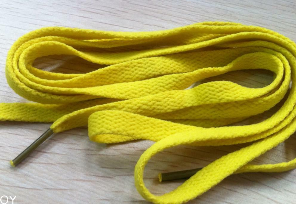 NEW YELLOW SHOE LACES Gold Green Aaron Rodgers
