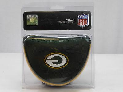 new green bay packers mallet putter cover