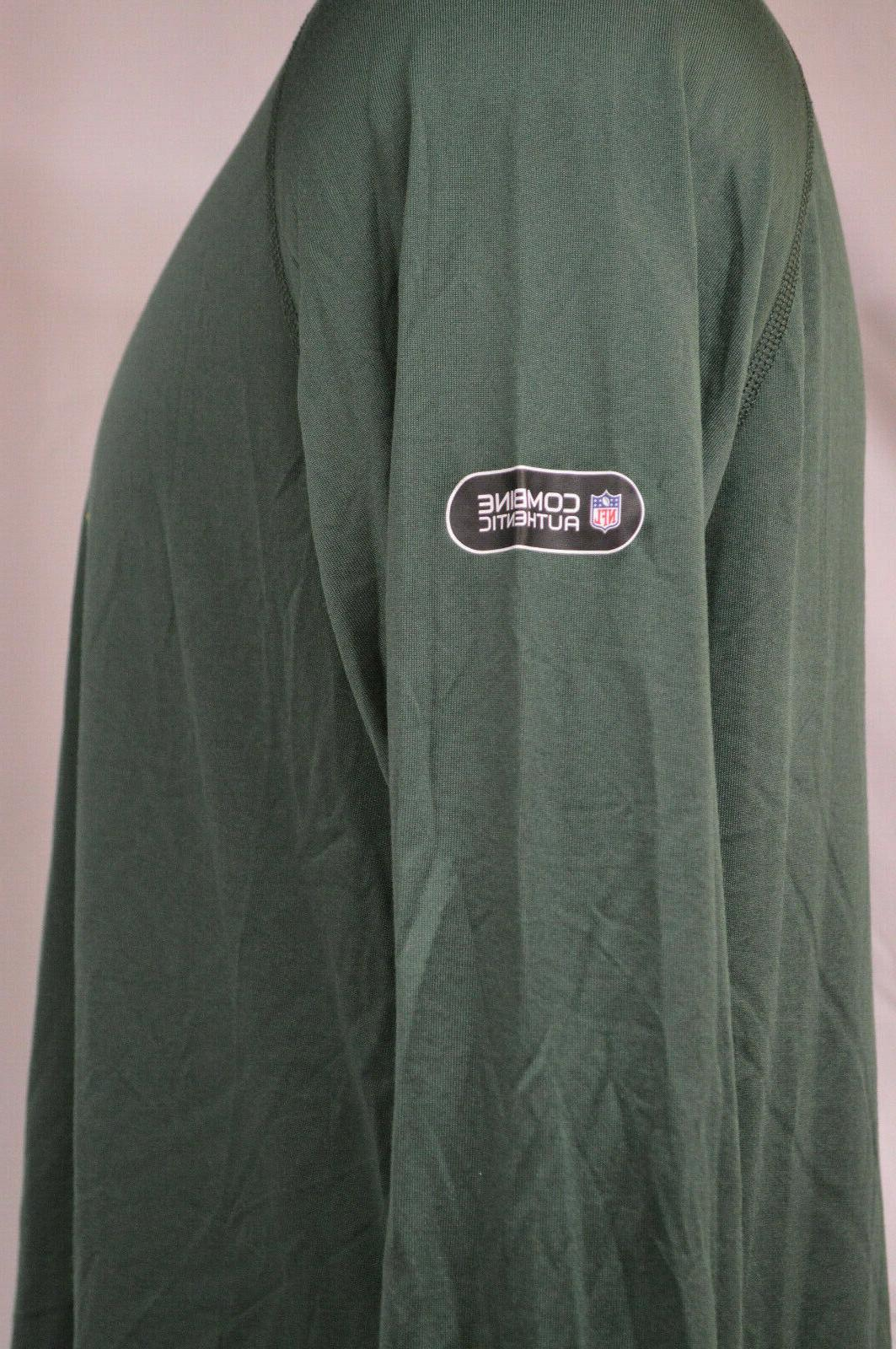 NEW GREEN PACKERS Combine Authentic T-Shirt ~ SIZE XL