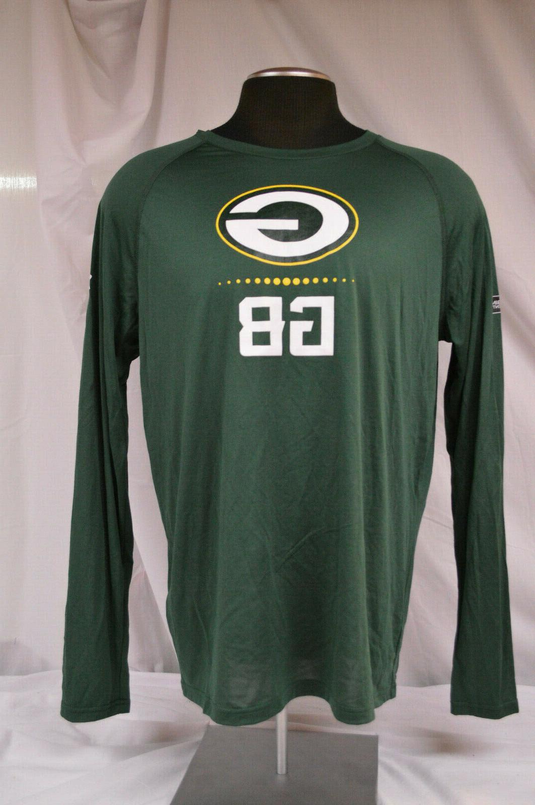 GREEN BAY Combine Authentic L/S T-Shirt ~ SIZE