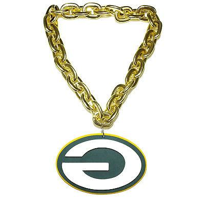 New Packers GOLD Necklace Foam Magnet - 2 in 1