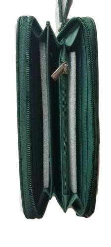 NEW NFL GREEN BAY PACKERS Women's Zip Wristlet Green