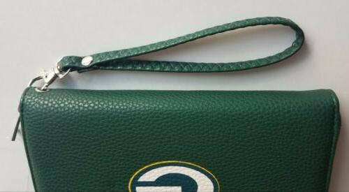 NEW NFL GREEN BAY PACKERS Wristlet Pebble,