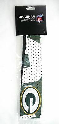 NFL Green Bay Packers FANBAND Headband Jersey Stretch Embroi