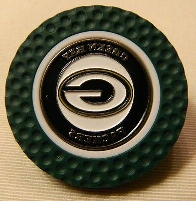 nfl green bay packers magnetic poker chip