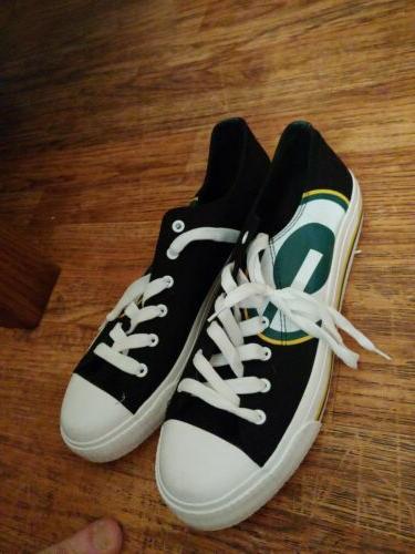 NFL Mens Canvas Shoes 10 football