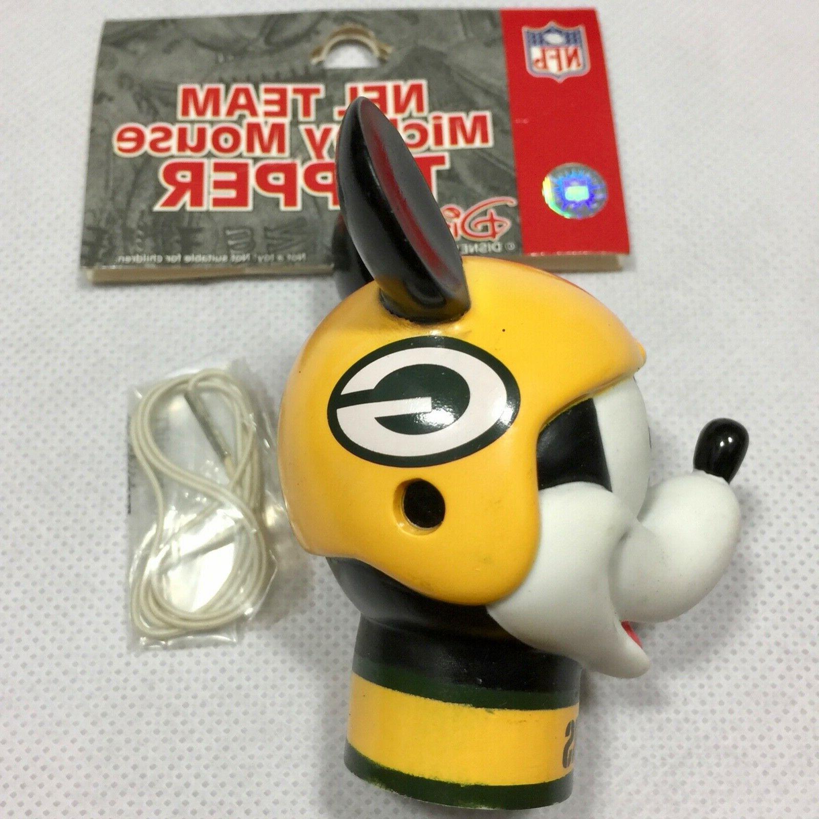 NFL Green Bay Mickey Antenna New Disney Free Ship