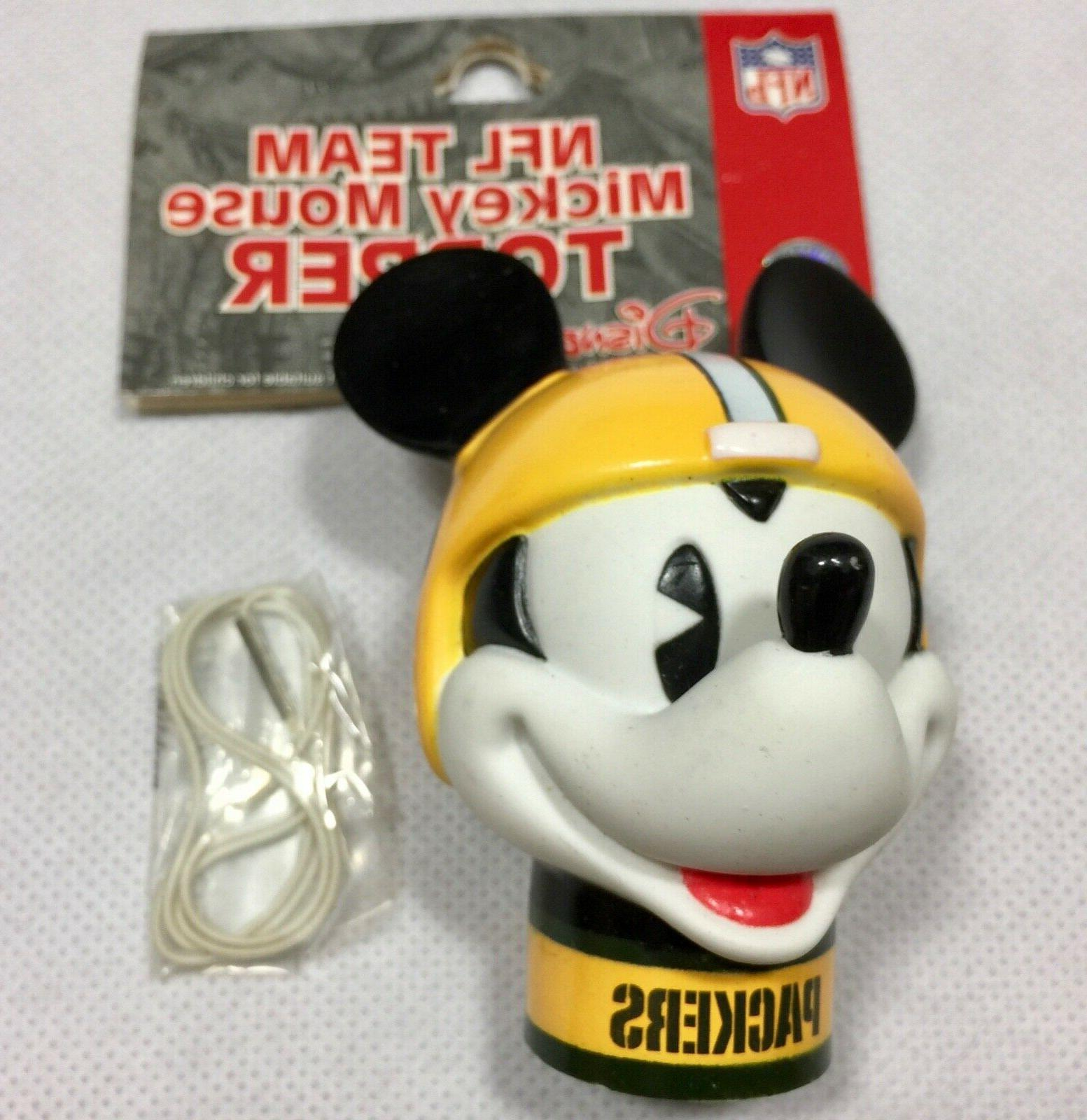 nfl green bay packers mickey mouse antenna