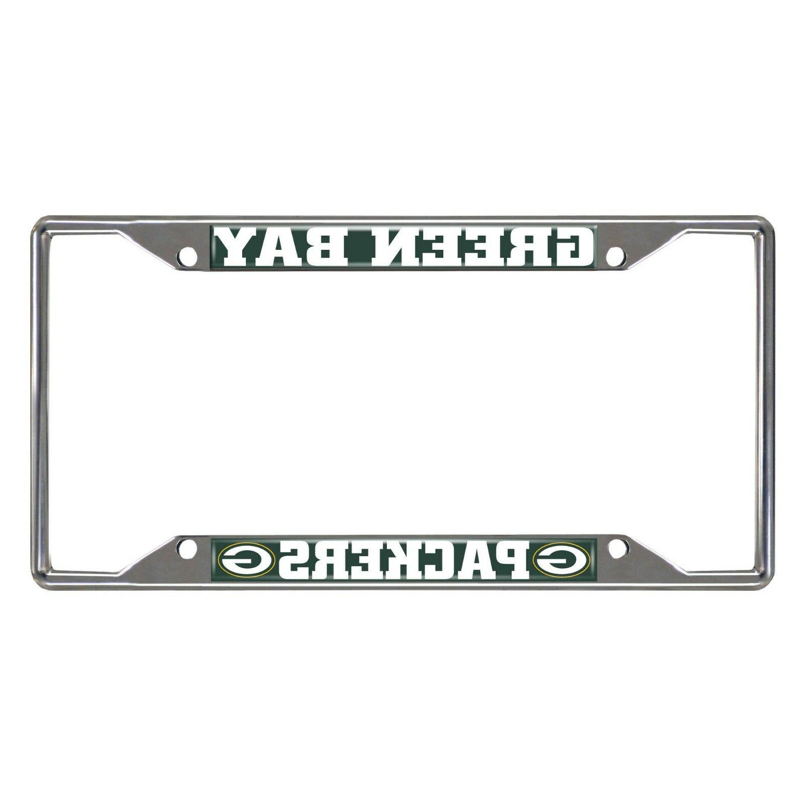 nfl green bay packers new metal chrome