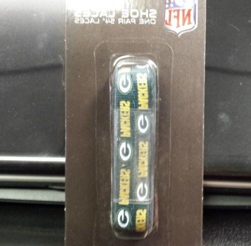 NFL Green Shoe Laces