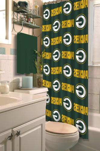 nfl green bay packers shower