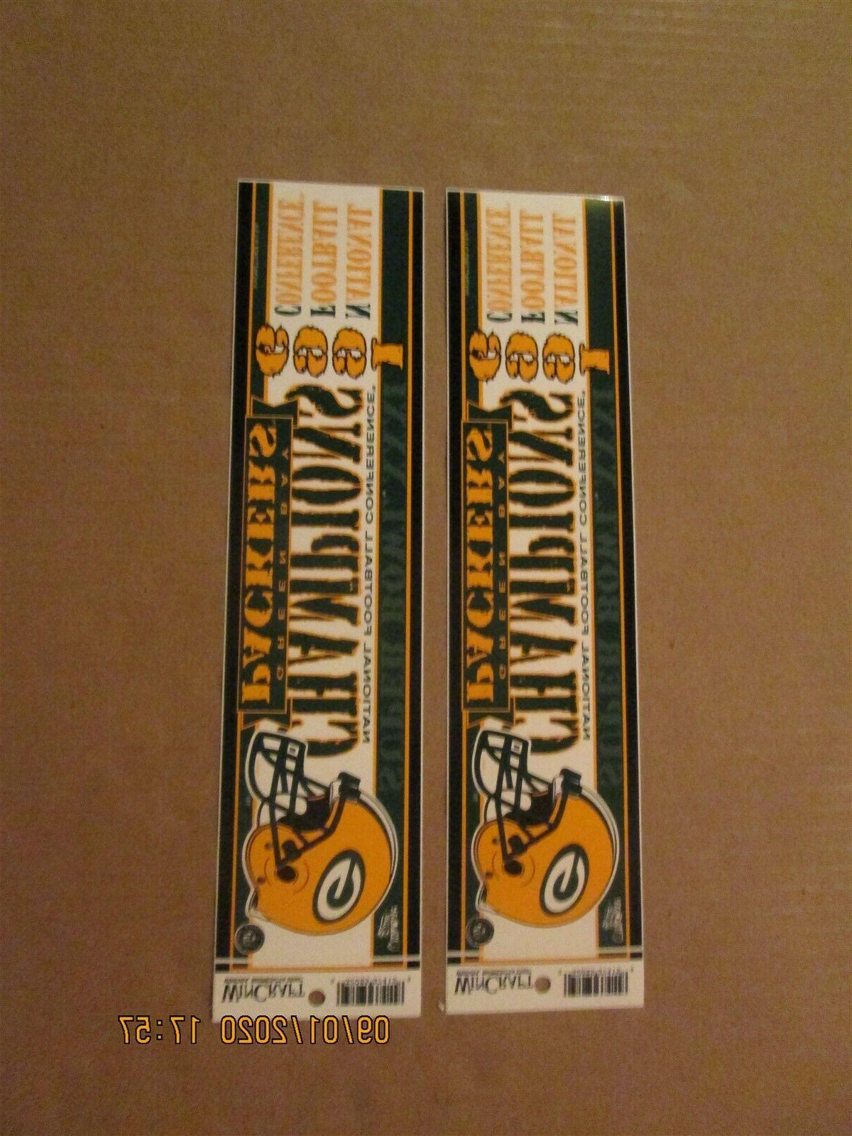 nfl green bay packers vintage lot of