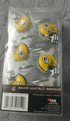 NFL- Packers Shower Rings