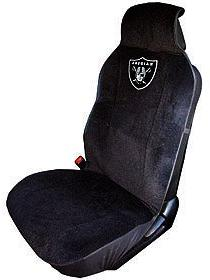 Fremont Die NFL Oakland Raiders Seat Cover, One Size, Black