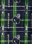 New NFL Officially Licensed Seattle Seahawks flannel fabric