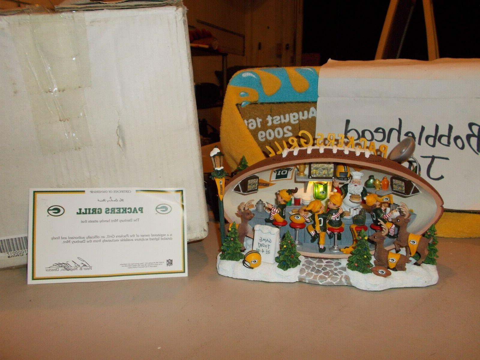 nib 2005 packers grill green bay packers