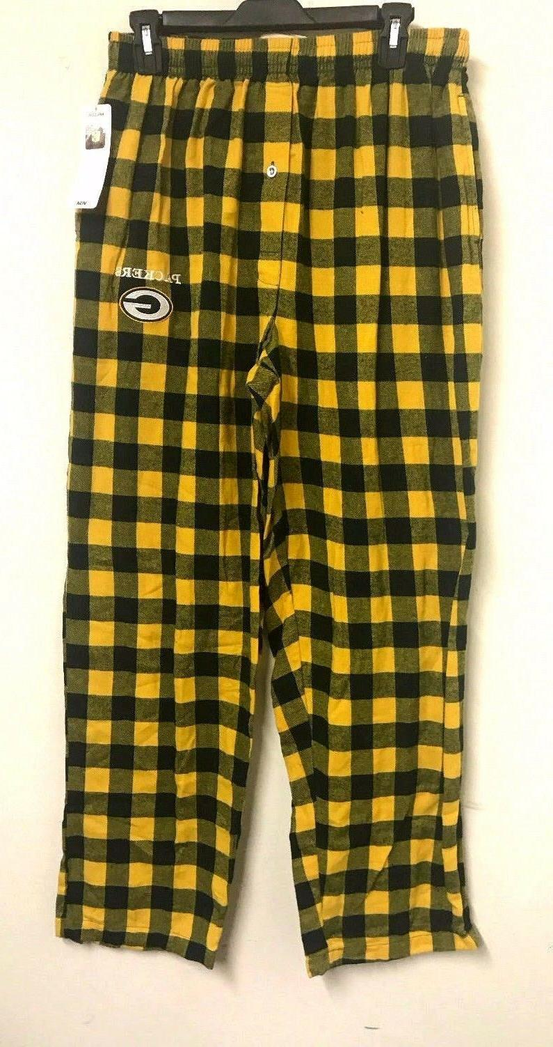 nwt green bay packers conference flannel sleep