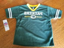 NFL Licensed Apparel Green Bay Packers Football Shirt Toddle