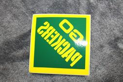lot of 5 green bay packers sticker